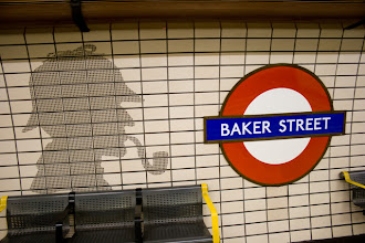Photo: Baker Street underground station