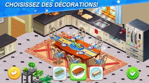 Dream Home Match - Renouveler la Mansion APK MOD – ressources Illimitées (Astuce) screenshots hack proof 2