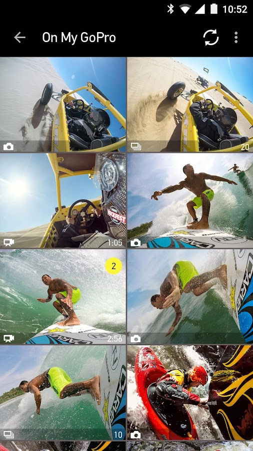 GoPro App - screenshot