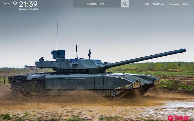 Т-14 tanks Wallpapers HD Theme