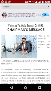 ICAI Akola Branch- screenshot thumbnail