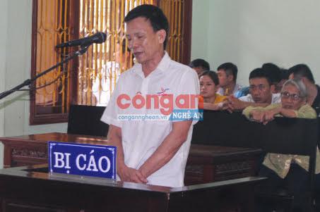 Bị cáo Nguyễn Đức Hải tại phiên tòa xét xử