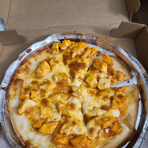 10 inch Buffalo Chicken Pizza