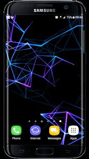 [Neon Particles 3D Live Wallpaper] Screenshot 2
