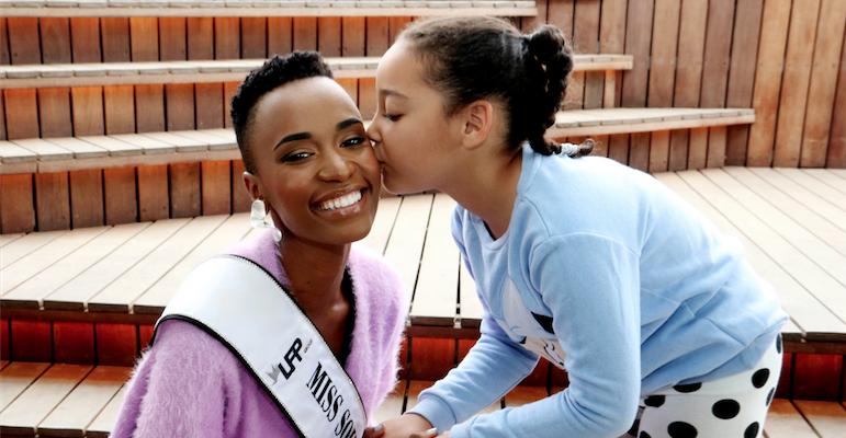 Juffrou SA, Zozibini Tunzi, slaan op die grond: 'Ek hoop dat ek jou trots kan maak' - TimesLIVE