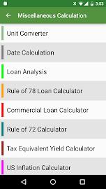 Financial Calculators Screenshot 8