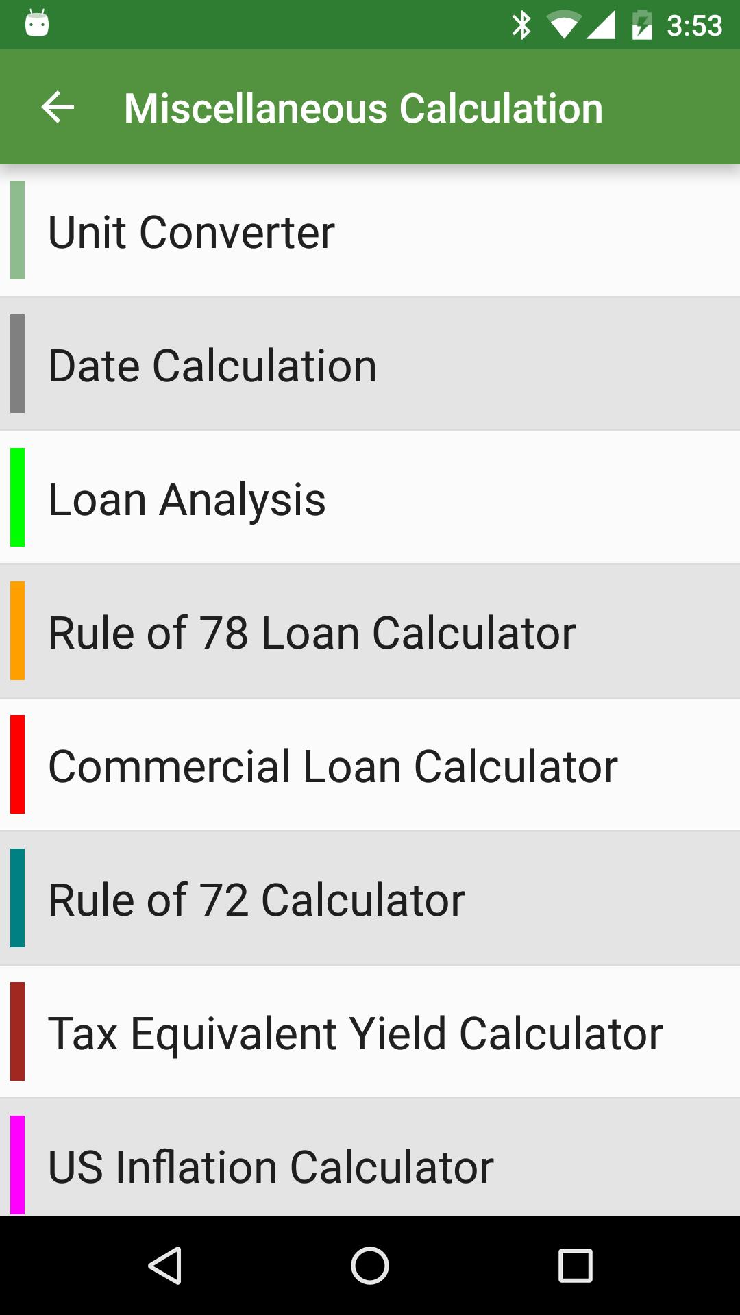 Financial Calculators screenshot #8