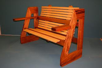 Photo: Seat for Two - John Elkins Blackwood & Silver Ash