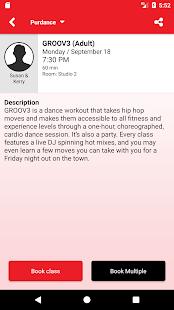 Purdance Go Mobile App - náhled