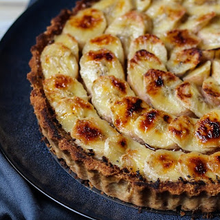 Caramelised  Banana  Tart Recipe