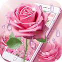 Elegant Pink Rose Theme icon