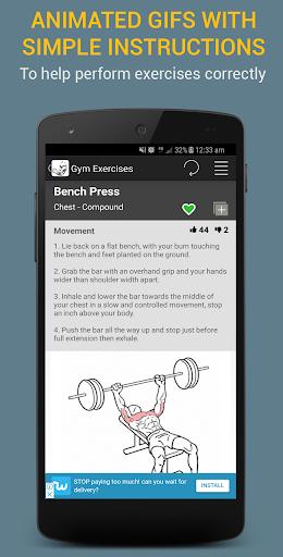 Gym Exercises 2.1 screenshots 3