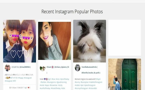 Instagrum - without account use it - náhled