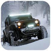 Offroad Snow Truck Driving