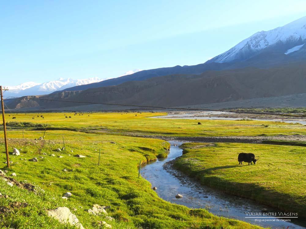 Percorrer a ESTRADA DE CARACÓRUM - Uma breve incursão na morada dos deuses   China