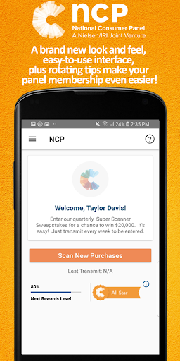 NCP Mobile - screenshot
