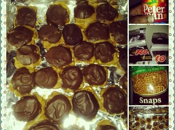 Caramel Peanut Butter Patties (take 5 Clone) Recipe