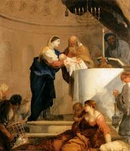 Photo: Bourdon, Sébastien - Presentation in the Temple - c. 1644