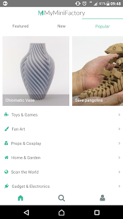 MyMiniFactory - Search and Explore - náhled
