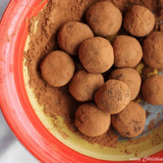 Mocha Chocolate Truffles.
