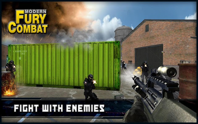 Modern Fury Combat - screenshot