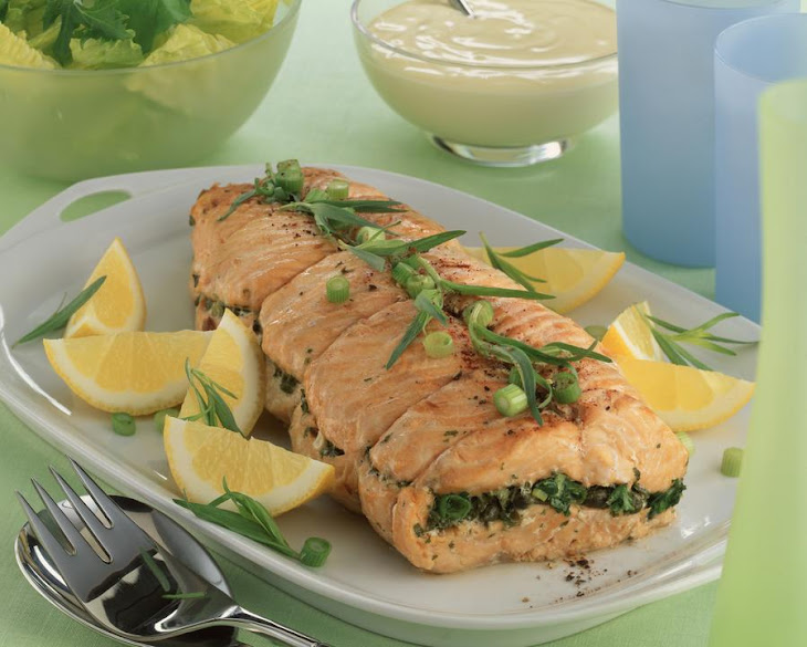 Baked Salmon with Herbs and Capers Recipe | Yummly