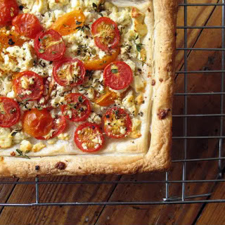 Cherry Tomato And Feta Tart Recipes