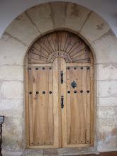 Photo: Puerta de la iglesia - boletín 117