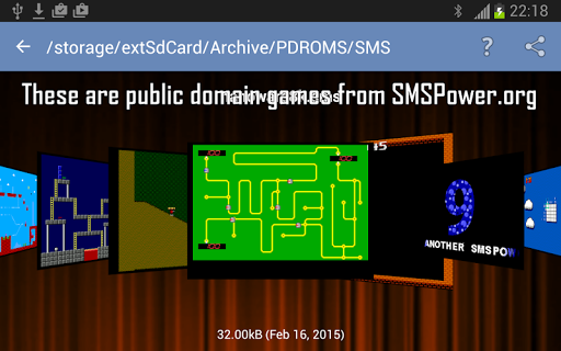 MasterGear - MasterSystem & GameGear Emulator screenshots 4