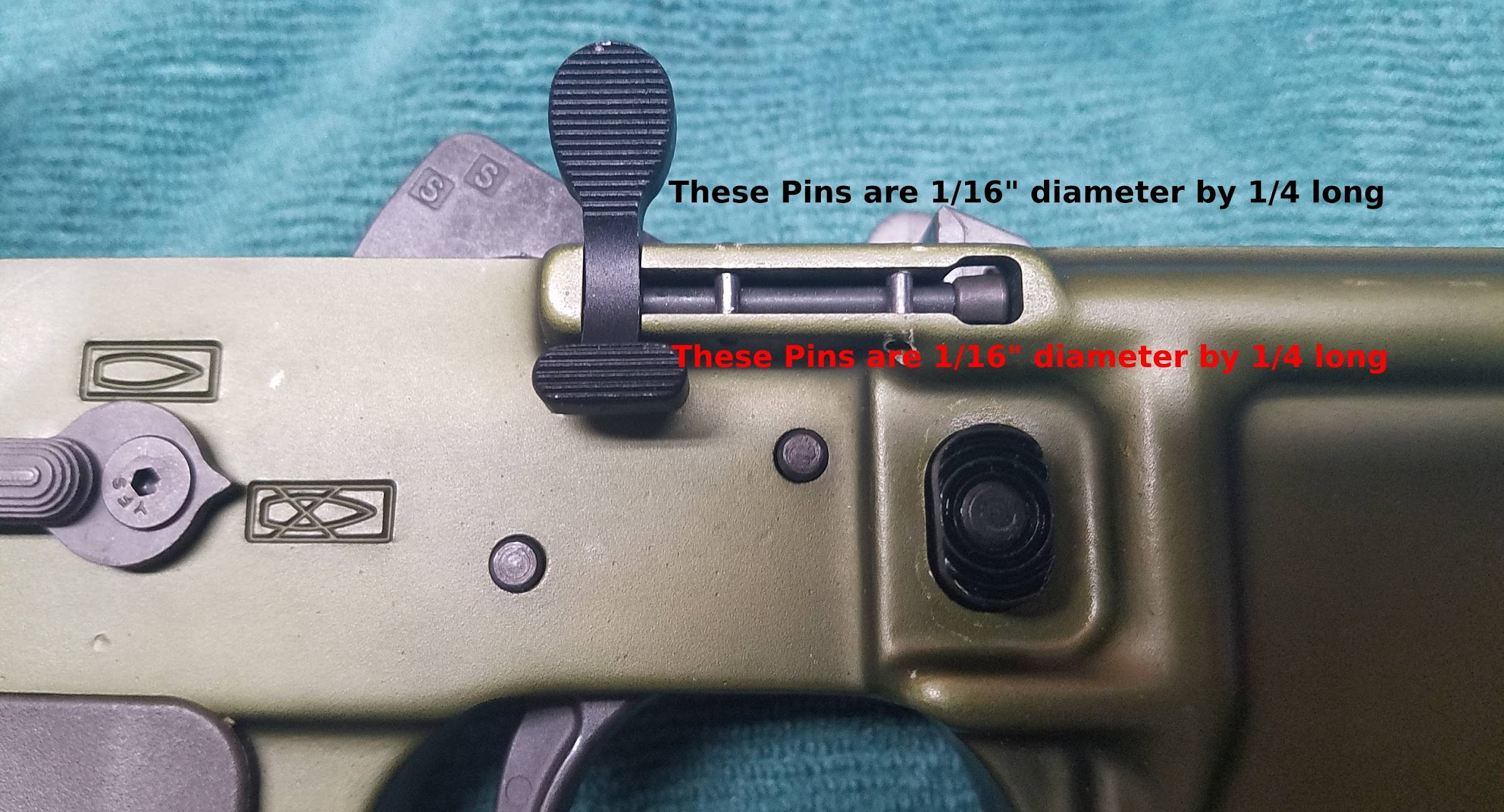 Lmt Mars Lower Bolt Catch Ambi Assembly Pin Sizes Help Needed Ar15 Com