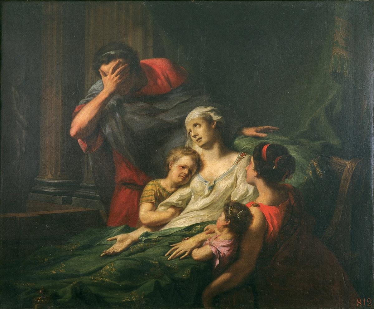 Il sacrificio di Alcesti - Johann Heinrich Tischbein — Google Arts ...