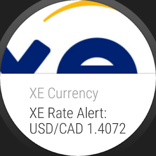 XE Currency – Vignette de la capture d'écran