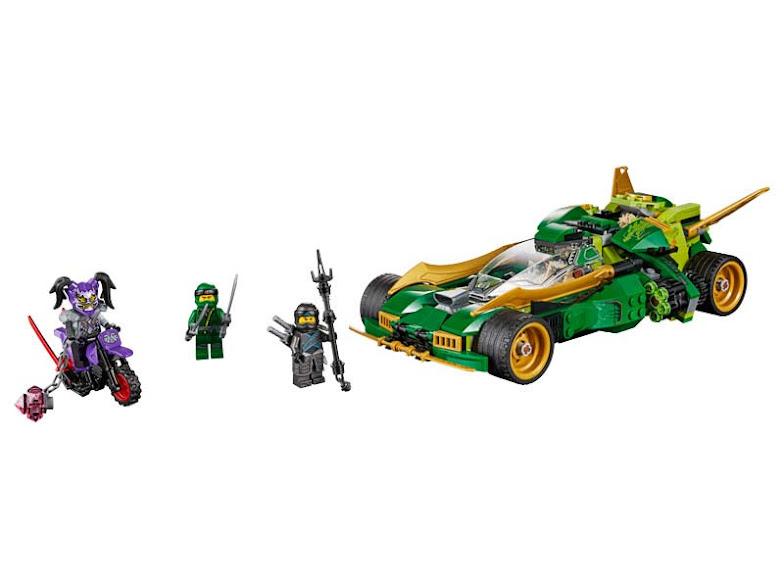 Contenido de Lego® 70641 Reptador Ninja Nocturno