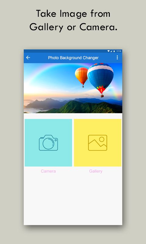 Photo Background Changer- screenshot