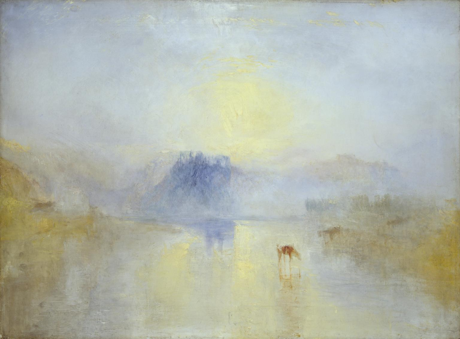 Norham Castle Sunrise, J.M.W. Turner