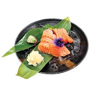 60. Small Salmon Sashimi