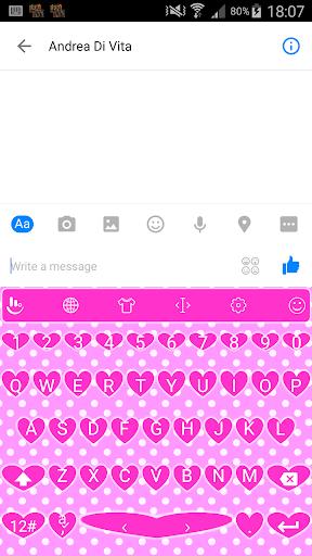 Valentine 7 TouchPal Keyboard