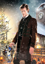 Photo: Matt Smith as The Doctor in the Doctor Who Christmas Special 2013, The Time of the Doctor.