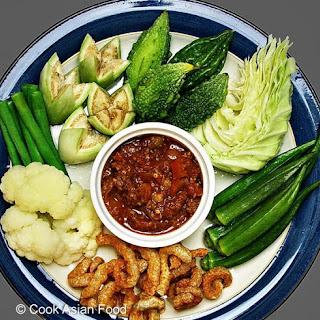 Thai Recipe - Ground Pork - Nam Prik Ong.