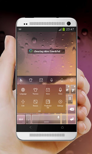 玩個人化App|结算天空 TouchPal 主题免費|APP試玩