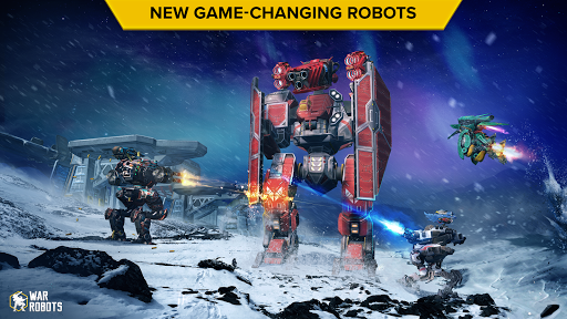 War Robots. 6v6 Tactical Multiplayer Battles 5.8.0 screenshots 2
