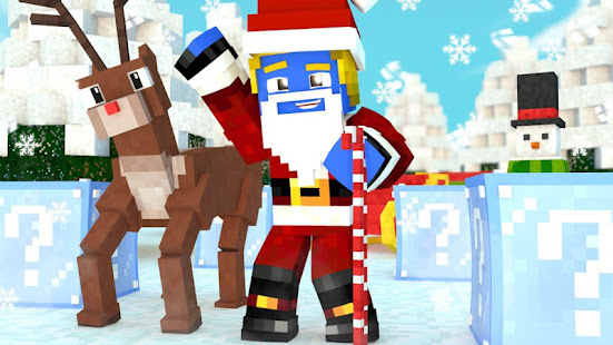 screenshot image - Christmas Skins For Minecraft
