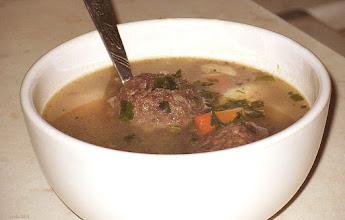 Photo: Zupa z gałkami z kaszanki - http://prota.extra.hu/bogracs_zupy_2.php#orja_hurka