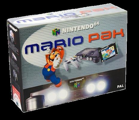 Nintendo 64 Console Grey Mario Pak