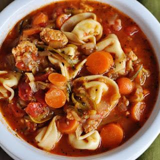 Tortellini Sausage Soup