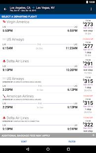 Orbitz - Flights, Hotels, Cars- screenshot thumbnail