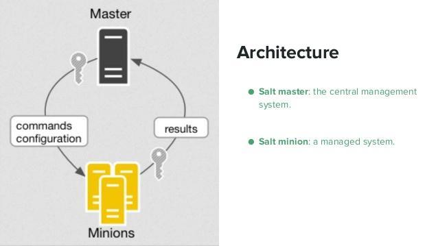 Kết quả hình ảnh cho saltstack architecture