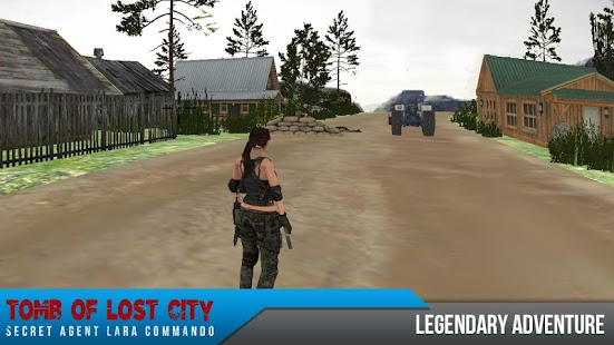 Tomb of Lost City : Secret Agent Lara Commando - náhled