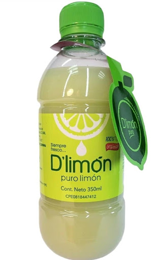 Jugo D limon puro 350ml