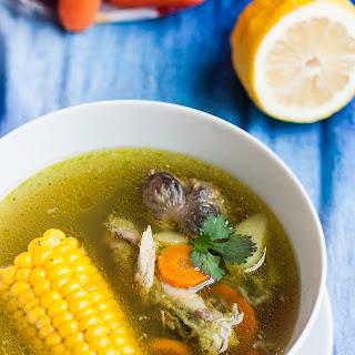 Cilantro Chicken Soup (Sopa de Cilantro)